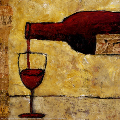 Jesus recommended this on a regular basis. (Painting by Judi Bagnato)
