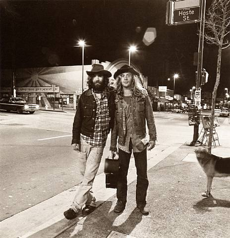 Street Musicians on Telegraph Avenue in 1974. Photo by Richard Misrach.