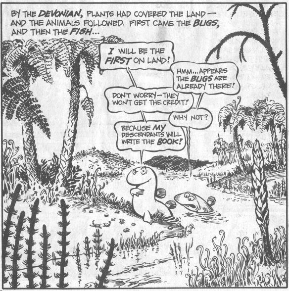 From The Cartoon History of the Universe, by Larry Gonick